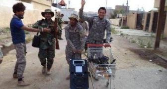 Бесчинства шиитских боевиков в Тикрите отбитом у ИГ