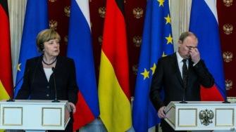 Ангела Меркель подвергла жесткой критике политику российского руководства, назвав аннексию Крыма преступной