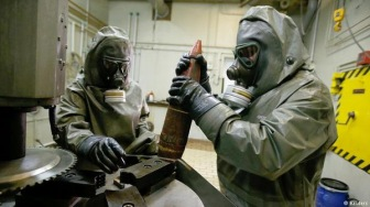 Сирийская армия снова применяет химическое оружие