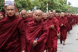 Демонстрации буддистов против мусульман начались в Мьянме