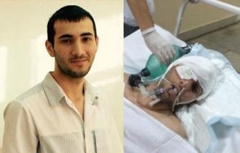 Раненый ручкой в глаз Магомед Алиев находится в здравом уме