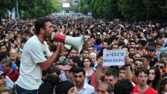 Народные волнения в Ереване