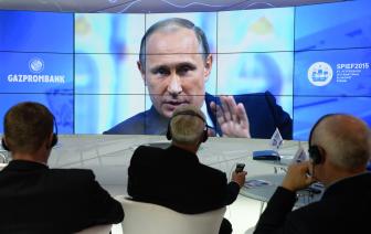 Выступление Путина на Петербургском форуме противоречит экономической реальности
