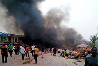 Десятки людей погибли при двойном теракте в Нигерии