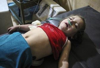 Войска Асада напали на пригород Дамаска с применением хлористого газа