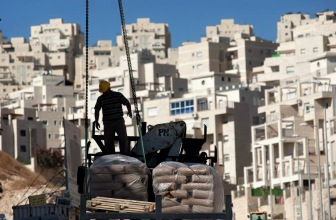 США выступили против строительства поселений на оккупированных палестинских территориях