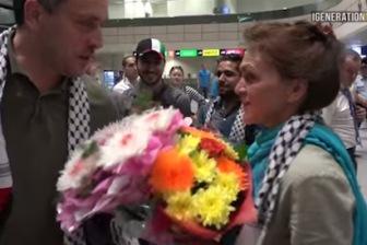 Освобожденную из израильского плена Надежду Кеворкову тепло встретили в Москве