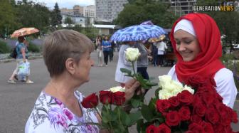 Мусульманки шокировали москвичей