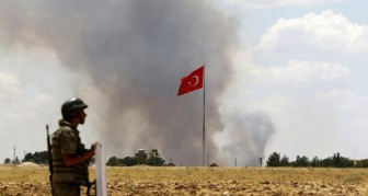 Позиции Рабочей партии Курдистана продолжают бомбить турецкие военные силы