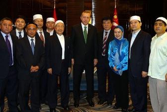 Эрдоган принял представителей Китайского исламского общества
