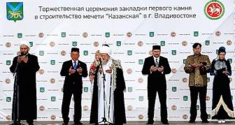 Деревянная мечеть - для верующих Владивостока