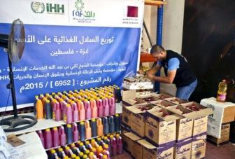 Газа: помощь от турецких и катарских мусульман