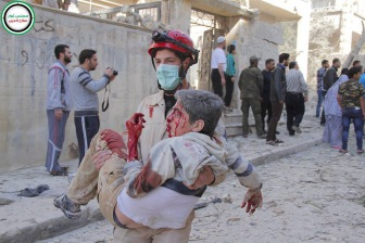 Предместья Дамаска обстреливают ВВС Асада