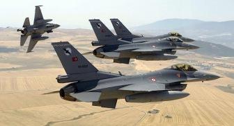 Турецкие самолеты бомбят террористов-курдов