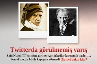 Сенсация в турецких СМИ: состоялась твит-битва #SaidNursi vs #Ataturk