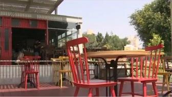 На исламских могилах в Иерусалиме построили кафе