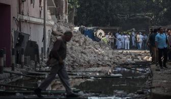 В пригороде Каира мощный взрыв