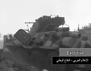 В Сирии зафиксированы российские техника и военные