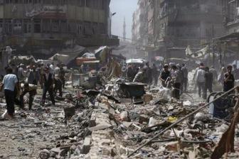 Новый удар авиации Асада по жилому кварталу
