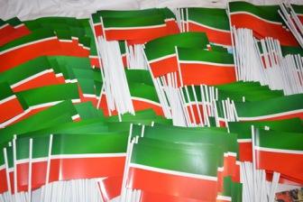 В Казани запрещали раздавать флаги Татарстана