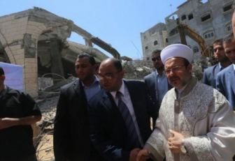Турция восстановит 9 мечетей Газы