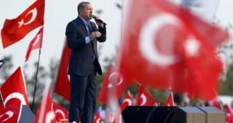 Более ста тысяч стамбульцев вышли на митинг против терроризма