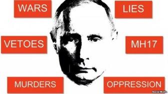 В Нью-Йорке протесты против выступления Путина в ООН