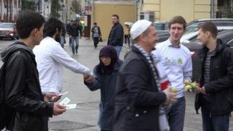 Мусульмане устроили в Москве 11 сентября (ВИДЕО)