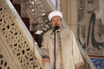 Муфтий Турции Мехмет Гёрмез прочитал хутбу в Москве