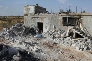 Бомбардировки по городу Дума в Сирии, погибло трое детей