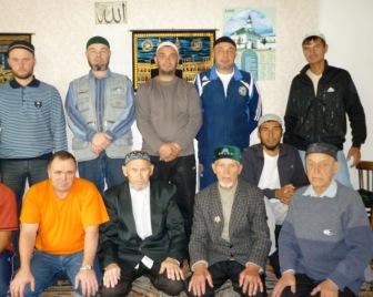 Поиски экстремистов на пятничном намазе в Прокопьевске