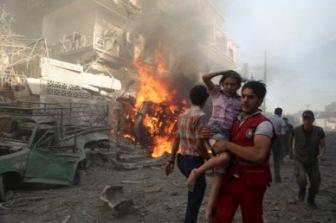 3 день ударов РФ по Сирии: разбомблен рынок. Международная реакция