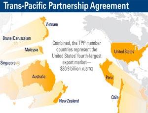 Малайзия и Бруней войдут в Тихоокеанское партнерство