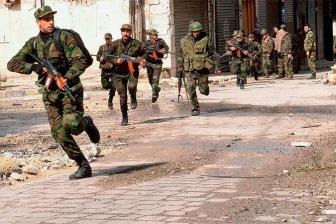 Путино-Асадовские, Хезболла и ИГИЛ идут в наступление