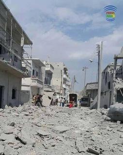 2 день ударов РФ по Сирии: снова ССА, а теперь и мечеть
