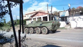 В Латакии зафиксированы российские наземные войска