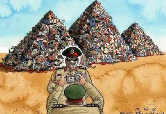 Военные трибуналы Сиси осудили 4000 мирных египтян