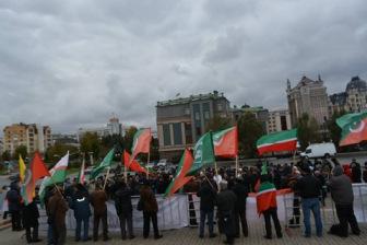 В Казани прошел митинг памяти ее защитников в 1552 году