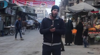 Журналист спрашивает на улицах Алеппо, кто вас бомбит и где тут ИГ?