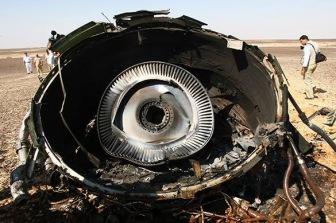 Великобритания считает, что на борту А321 могла взорваться бомба