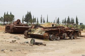 Армия Башара Асада продолжает отступать сдавая территории Сирии