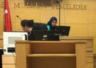 Первая в истории Турции женщина-судья в хиджабе