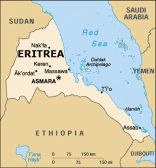 ОАЭ и Саудовской Аравией установлено военное присутствие  в Эритрее