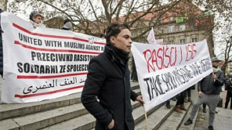 В Польше прошел митинг против исламофобии и террора