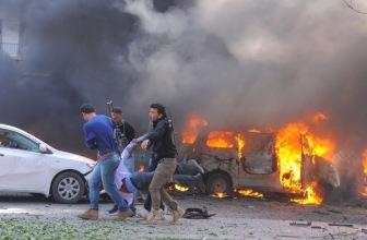 Около двух тысяч мирных граждан погибло в Сирии с начала российской военной кампании