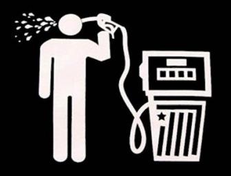 Россия: цены на нефть падают, а на бензин растут
