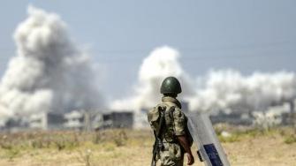 Между сирийскими и турецкими военными произошла перестрелка
