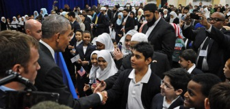 Как прошла историческая встреча мусульман и Барака Обамы