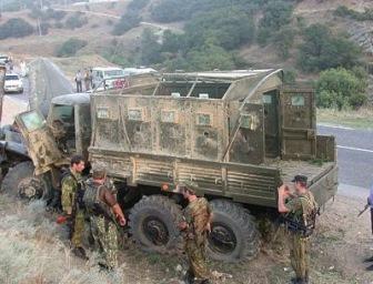 В Дагестане подорвали российских силовиков