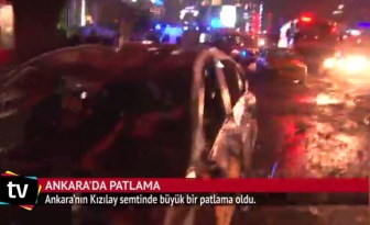 Мощный взрыв только что прогремел в самом центре Анкары